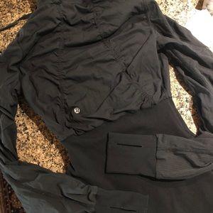 Lululemon reversible zip up jacket!